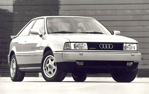 1990 audi coupe 2dr hatchback quattro fq oem 1 500