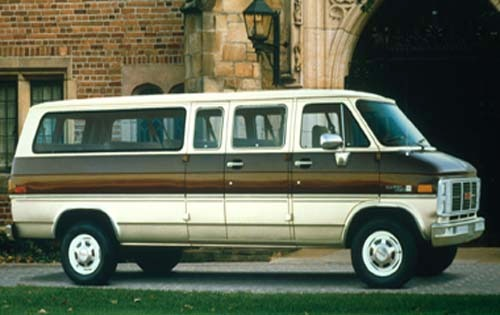 1990 gmc rally wagon passenger van g25 stx fq oem 1 500