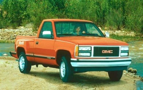 1990 gmc sierra 1500 regular cab pickup sle fq oem 1 500