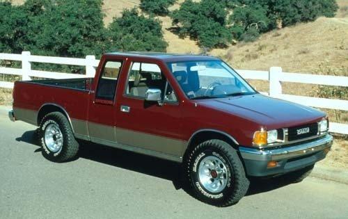 1990 isuzu pickup extended cab pickup ls fq oem 1 500