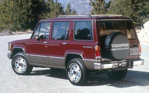 1990 isuzu trooper 4dr suv ls rq oem 1 500