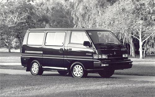 1990 mitsubishi vanwagon passenger minivan base fq oem 1 500