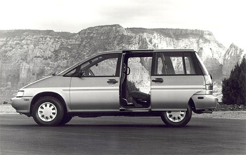 1990 nissan axxess passenger minivan se s oem 1 500