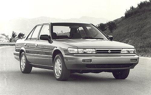 1990 nissan stanza sedan gxe fq oem 1 500