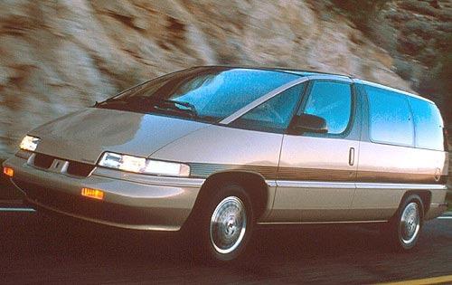 1990 oldsmobile silhouette passenger minivan base fq oem 1 500