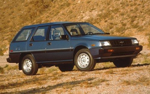 1990 plymouth colt wagon dl fq oem 1 500