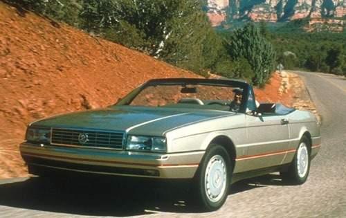 1991 cadillac allante convertible base fq oem 1 500