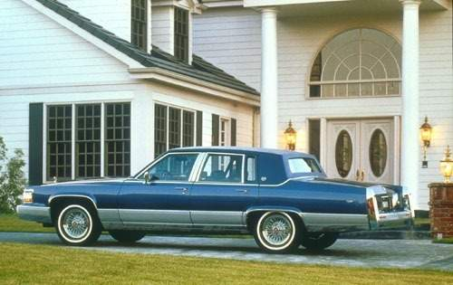 1991 cadillac brougham sedan base s oem 1 500