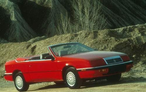 1991 chrysler le baron convertible gtc fq oem 1 500
