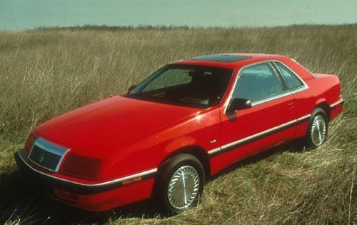 1991 chrysler le baron coupe premium lx fq oem 1 500