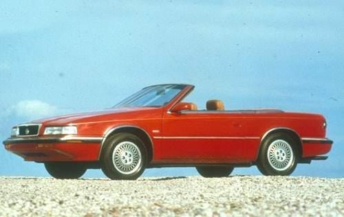 1991 chrysler tc convertible base fq oem 1 500