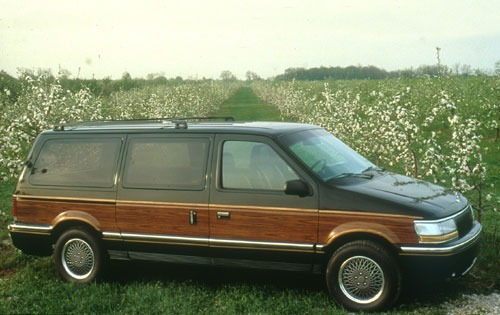 1991 chrysler town and country passenger minivan base fq oem 1 500