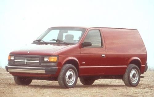 1991 dodge caravan cargo minivan base fq oem 1 500