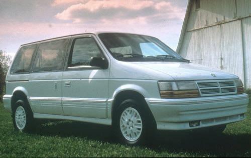 1991 dodge caravan passenger minivan es fq oem 1 500