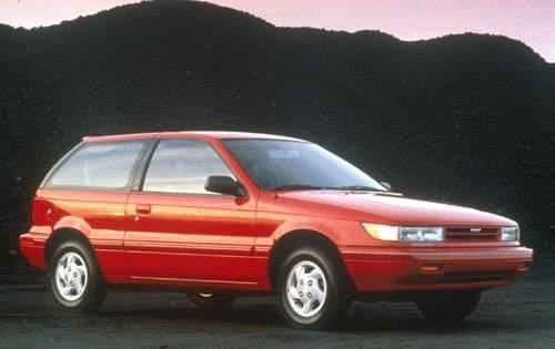 1991 dodge colt 2dr hatchback gl fq oem 1 500
