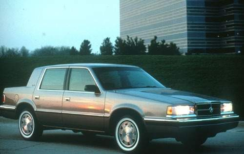 1991 dodge dynasty sedan le fq oem 1 500