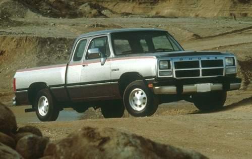 1991 dodge ram 150 extended cab pickup le fq oem 1 500