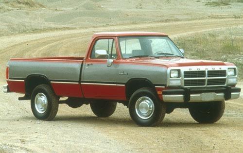 1991 dodge ram 250 regular cab pickup le fq oem 1 500