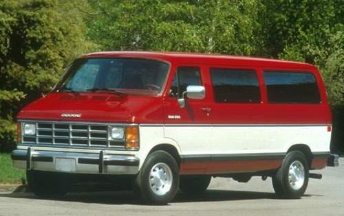 1991 dodge ram wagon passenger van b250 le maxi fq oem 1 500