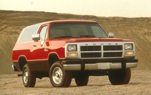 1991 dodge ramcharger 2dr suv 150 s fq oem 1 500