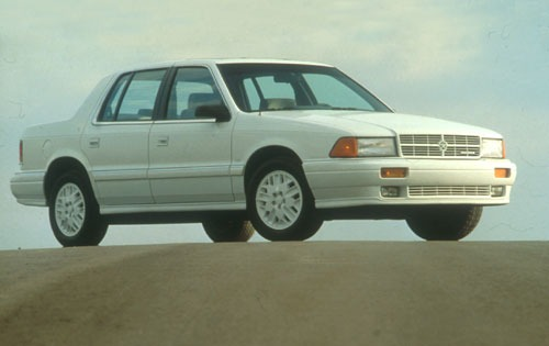 1991 dodge spirit sedan es fq oem 1 500