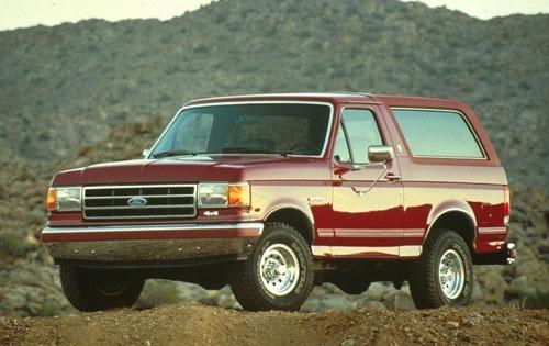 1991 ford bronco 2dr suv xlt fq oem 1 500
