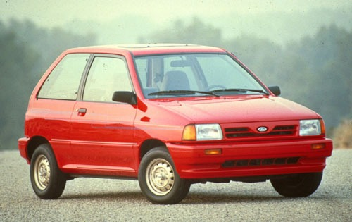 1991 ford festiva 2dr hatchback gl fq oem 1 500