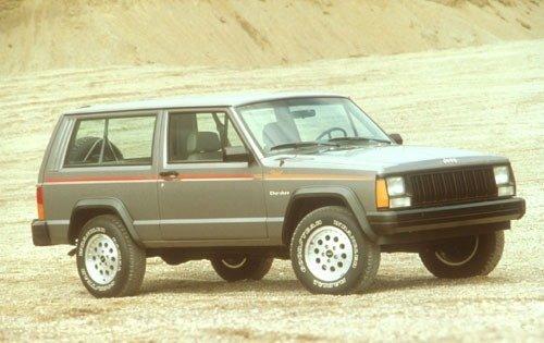 1991 jeep cherokee 2dr suv sport fq oem 1 500