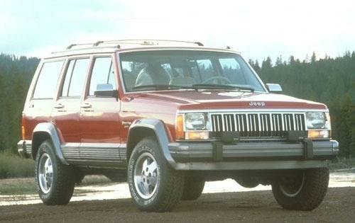 1991 jeep cherokee 4dr suv laredo fq oem 1 500