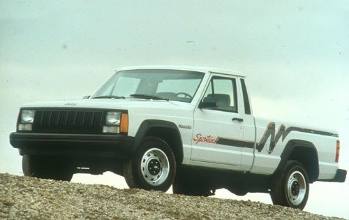 1991 jeep comanche regular cab pickup base fq oem 1 500