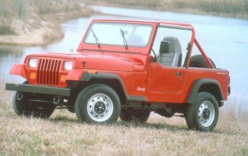 1991 jeep wrangler convertible suv base fq oem 1 500