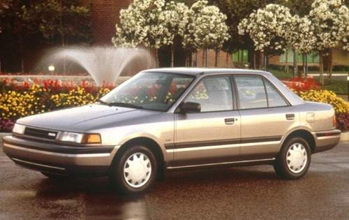 1991 mazda protege sedan lx fq oem 1 500