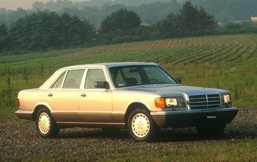 1991 mercedes benz 300 class sedan 300sel fq oem 1 500