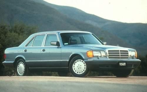 1991 mercedes benz 350 class sedan 350sd fq oem 1 500