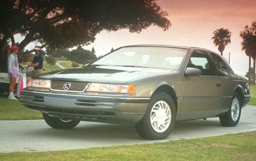 1991 mercury cougar coupe ls fq oem 1 500