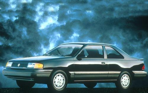 1991 mercury topaz sedan gs fq oem 1 500