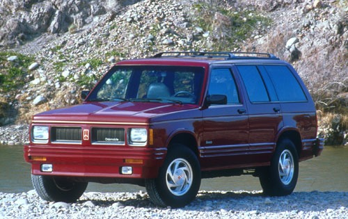 1991 oldsmobile bravada 4dr suv base fq oem 1 500