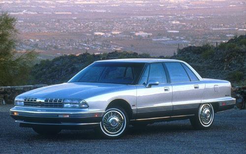 1991 oldsmobile ninety eight sedan regency elite fq oem 1 500