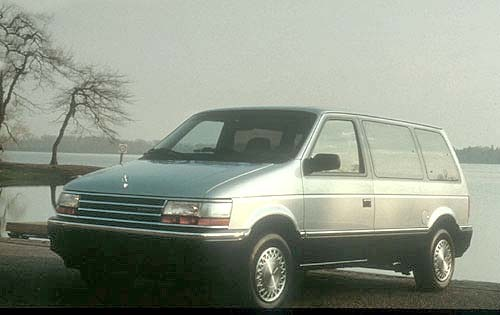 1991 plymouth grand voyager passenger minivan le fq oem 1 500