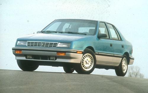 1991 plymouth sundance 4dr hatchback rs fq oem 1 500