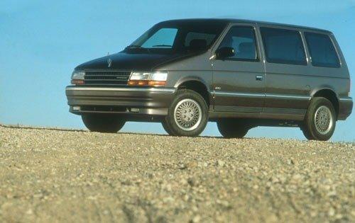 1991 plymouth voyager passenger minivan lx fq oem 1 500