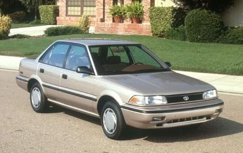 1991 toyota corolla sedan le fq oem 1 500