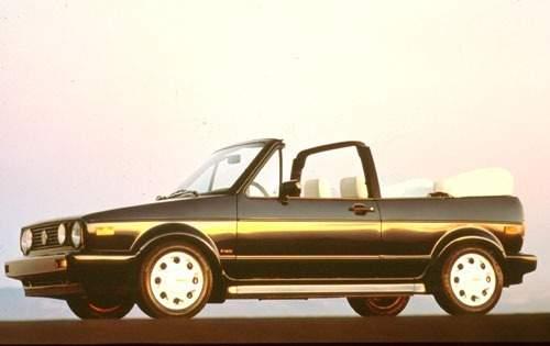 1991 volkswagen cabriolet convertible base fq oem 1 500