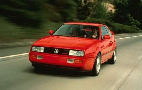 1991 volkswagen corrado 2dr hatchback base fq oem 1 500