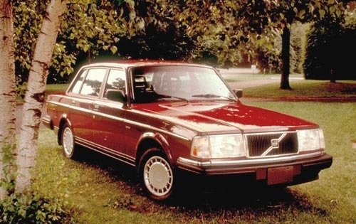 1991 volvo 240 sedan base fq oem 1 500