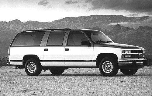 1992 chevrolet suburban 4dr suv 1500 fq oem 1 500