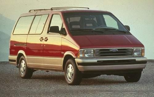 1992 ford aerostar passenger minivan eddie bauer fq oem 1 500