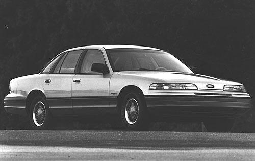 1992 ford crown victoria sedan lx fq oem 1 500