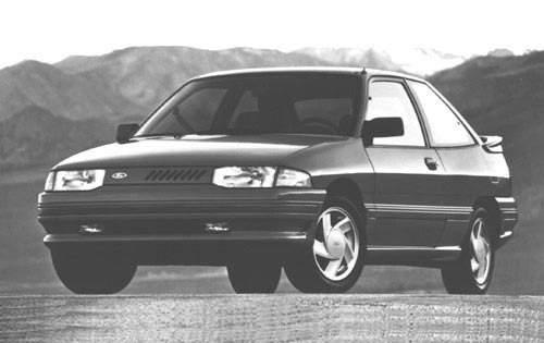1992 ford escort 2dr hatchback gt fq oem 1 500