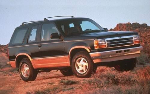 1992 ford explorer 2dr suv eddie bauer fq oem 1 500